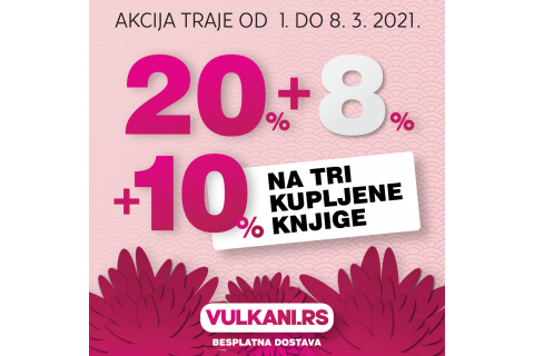 Samo na sajtu Vulkan Izdavaštva - Popust 20%+8%+10% na sve knjige, uz besplatnu dostavu!