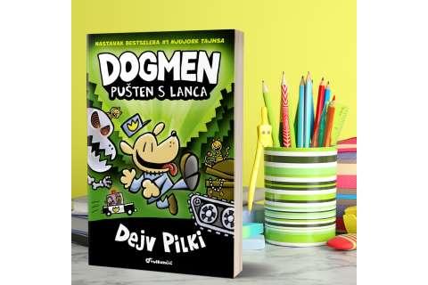 Grafički roman za decu Dogmen: Pušten s lanca u prodaji