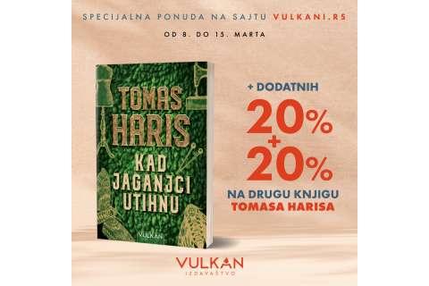 Posebna pogodnost uz kupovinu nove knjige Tomasa Harisa