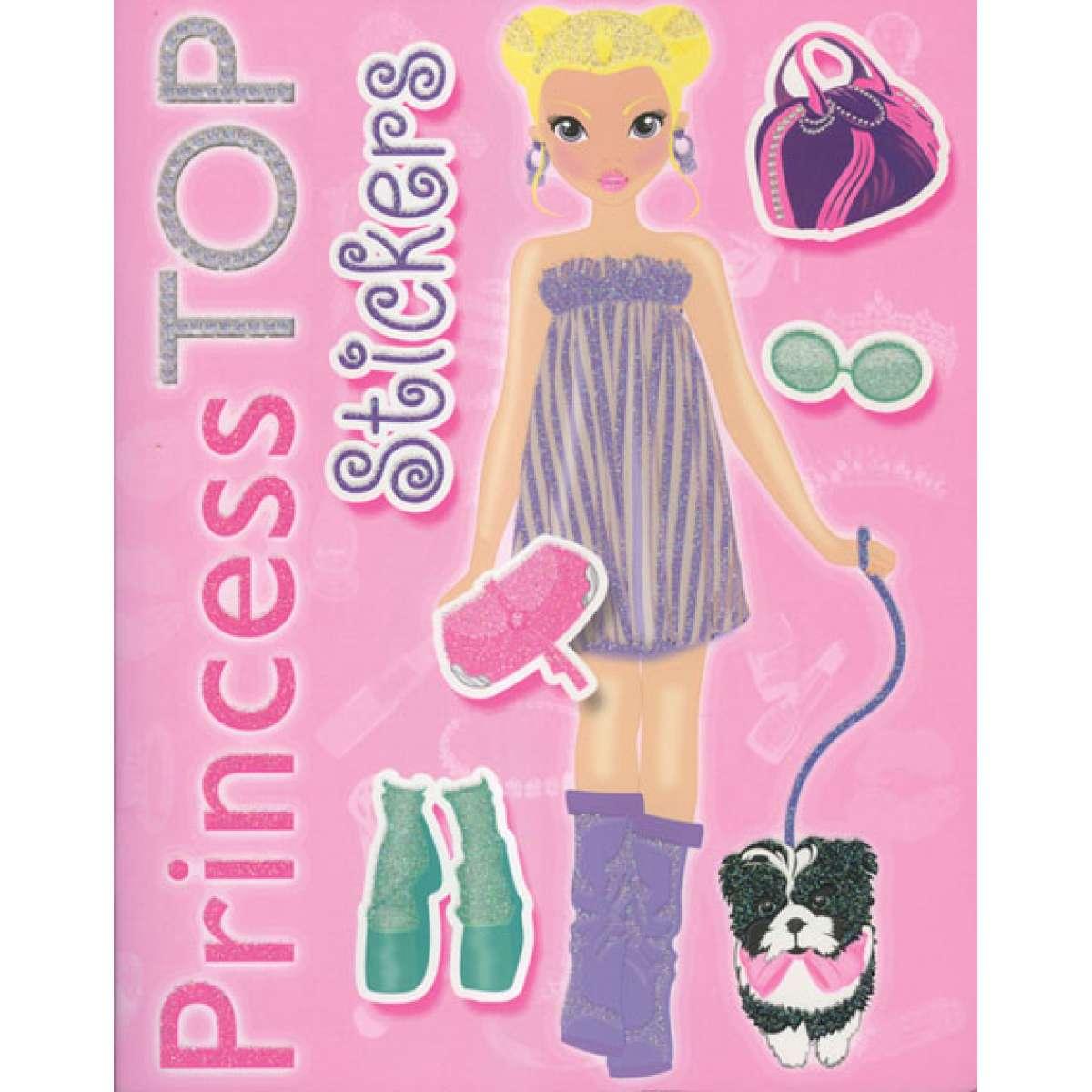 TOP PRINCESS - STICKERS ROZE 2