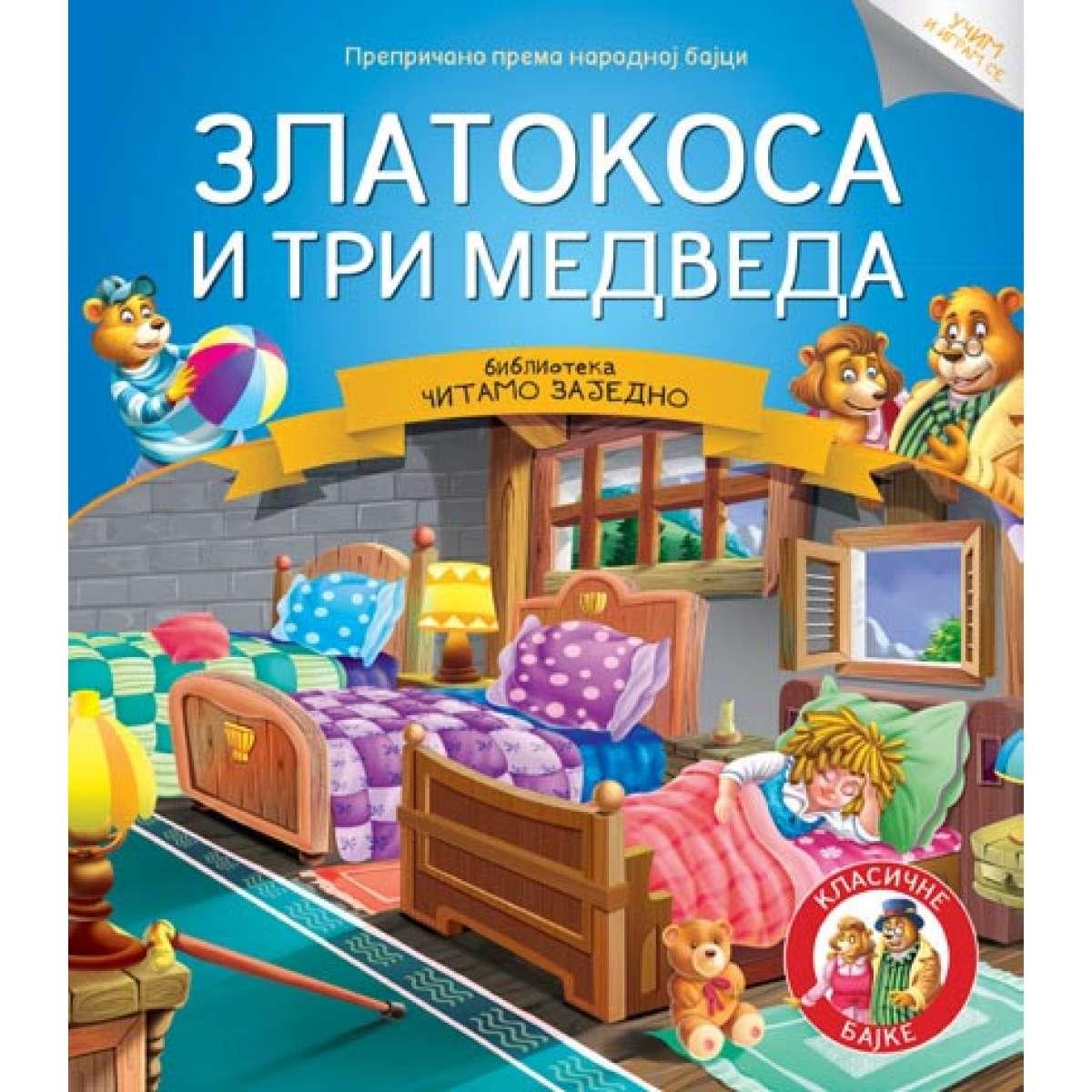 Čitamo zajedno - Zlatokosa i tri medveda