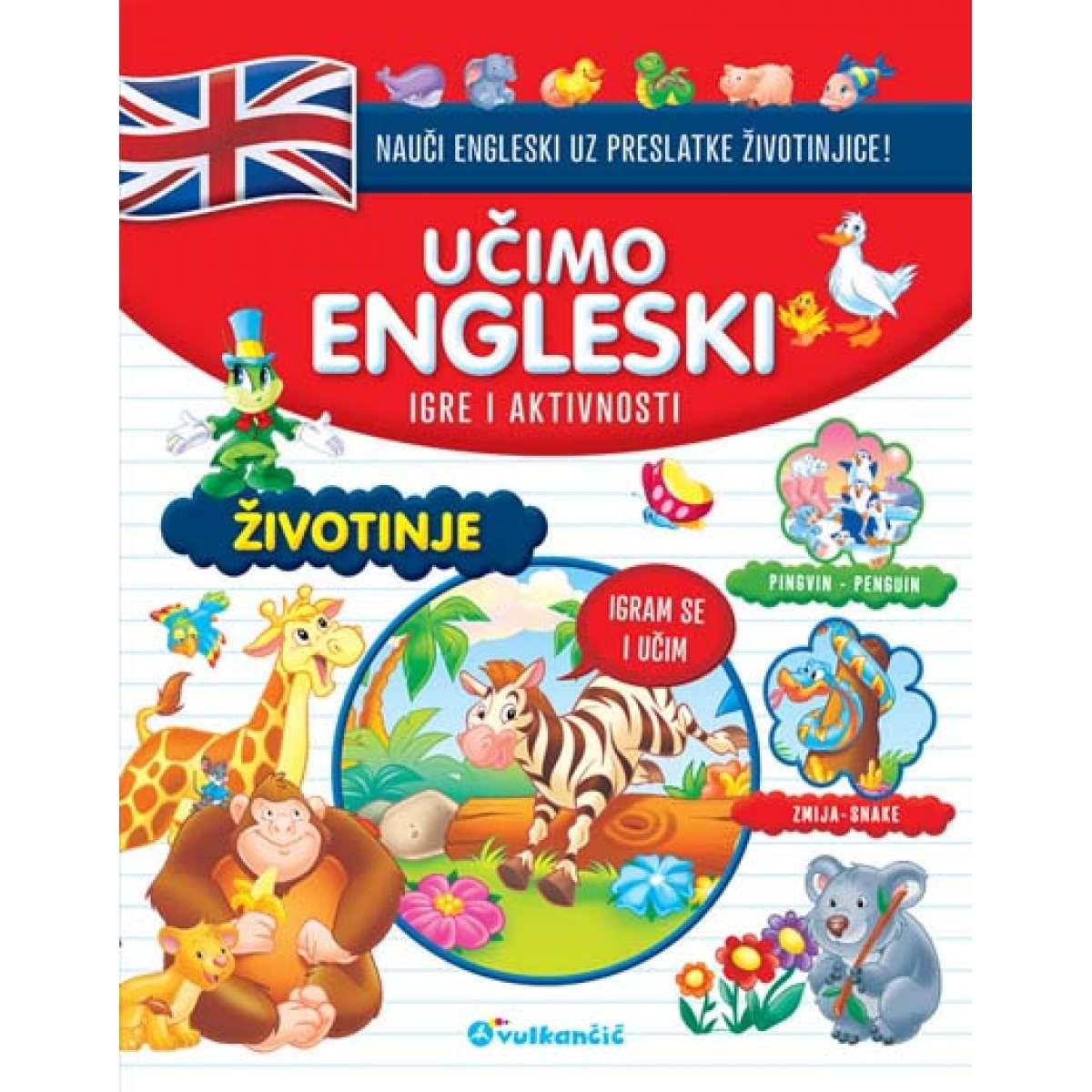 UČIMO ENGLESKI: ŽIVOTINJE