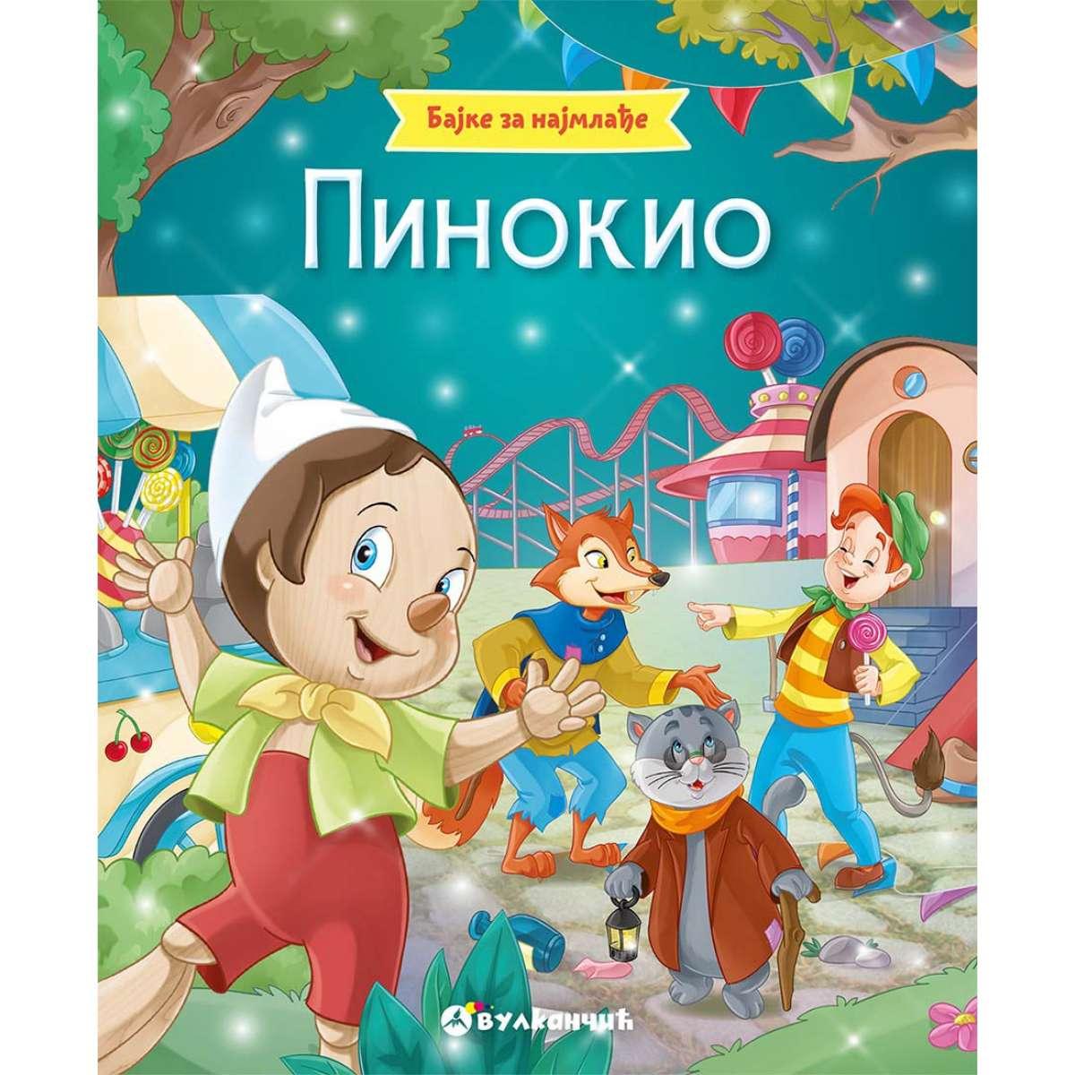 Bajke za najmlađe: Pinokio
