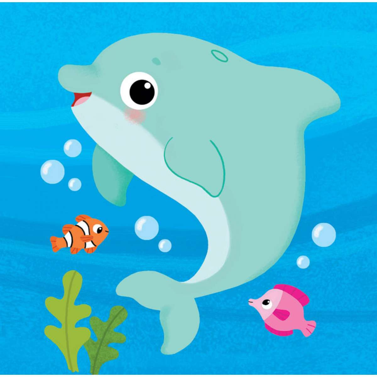 Knjižice za kupanje: Delfinko